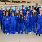 Falcon Swimming and Diving Finds Success at District Championships