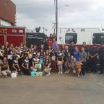Girls Soccer Delivers Donations