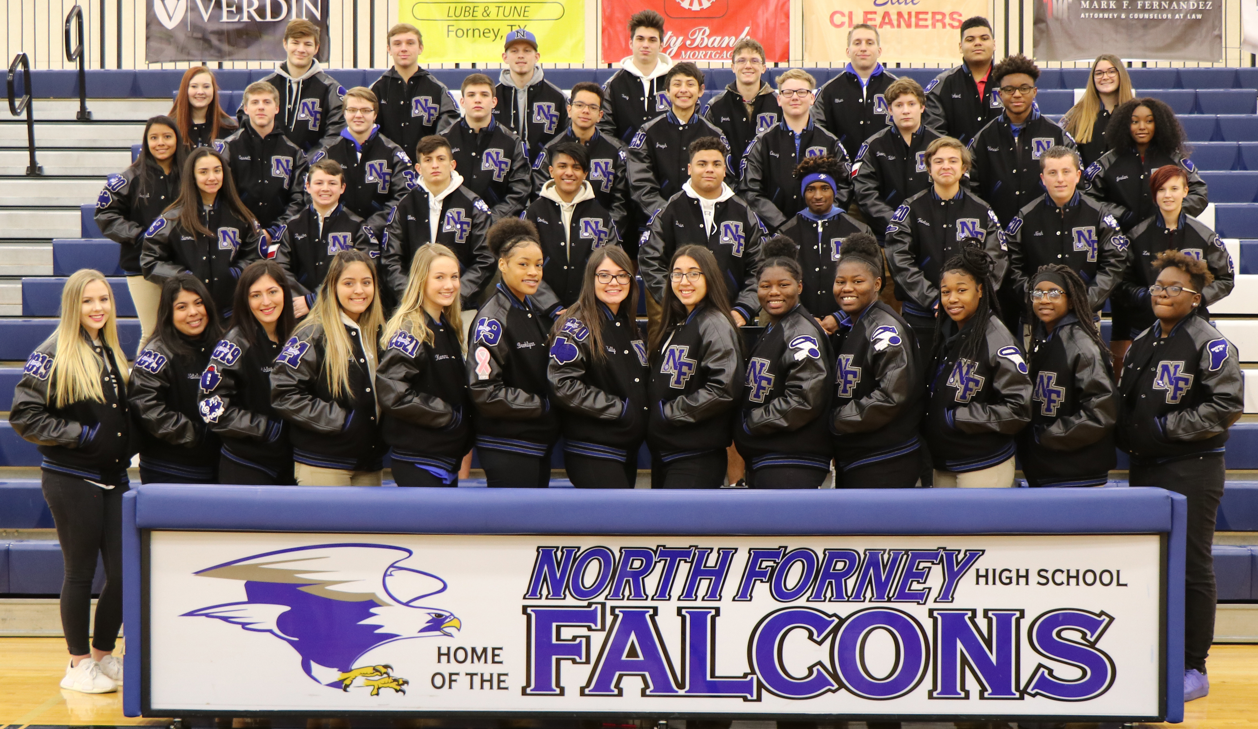 NF Letter Jacket Ceremony-May 16th