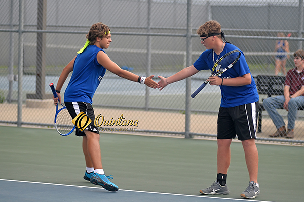 North Forney Tennis goes 2-0 in District