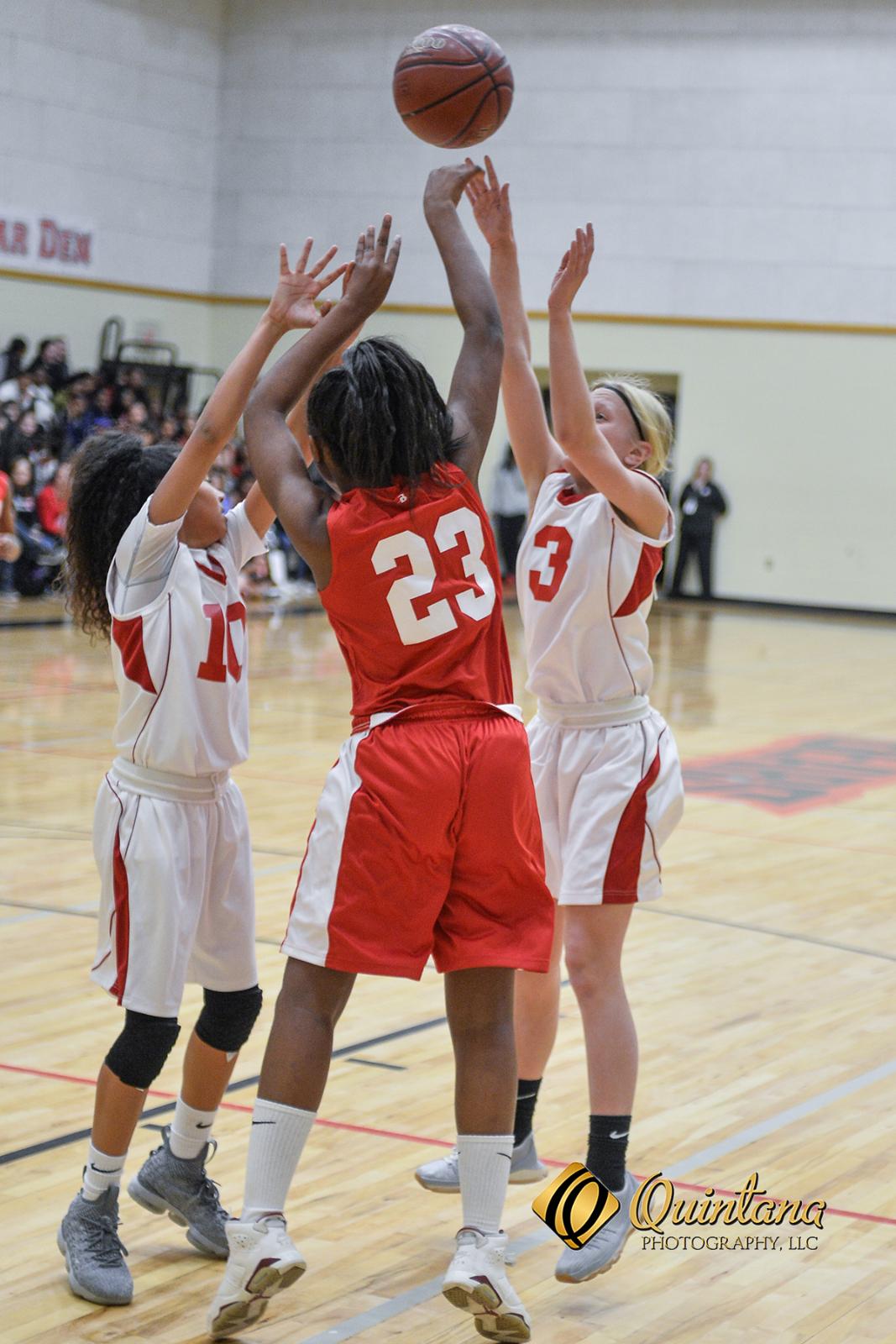 BMS Lady Bears Basketball vs. Terrell
