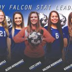 Lady Falcons Recognized as Area Stat Leaders