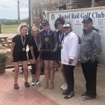 Your Lady Falcon Golf Team are District Champs!!