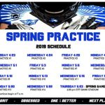 North Forney Football Spring Football Schedule