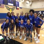 NF Lady Falcons Volleyball Beat Poteet in 1st District Match