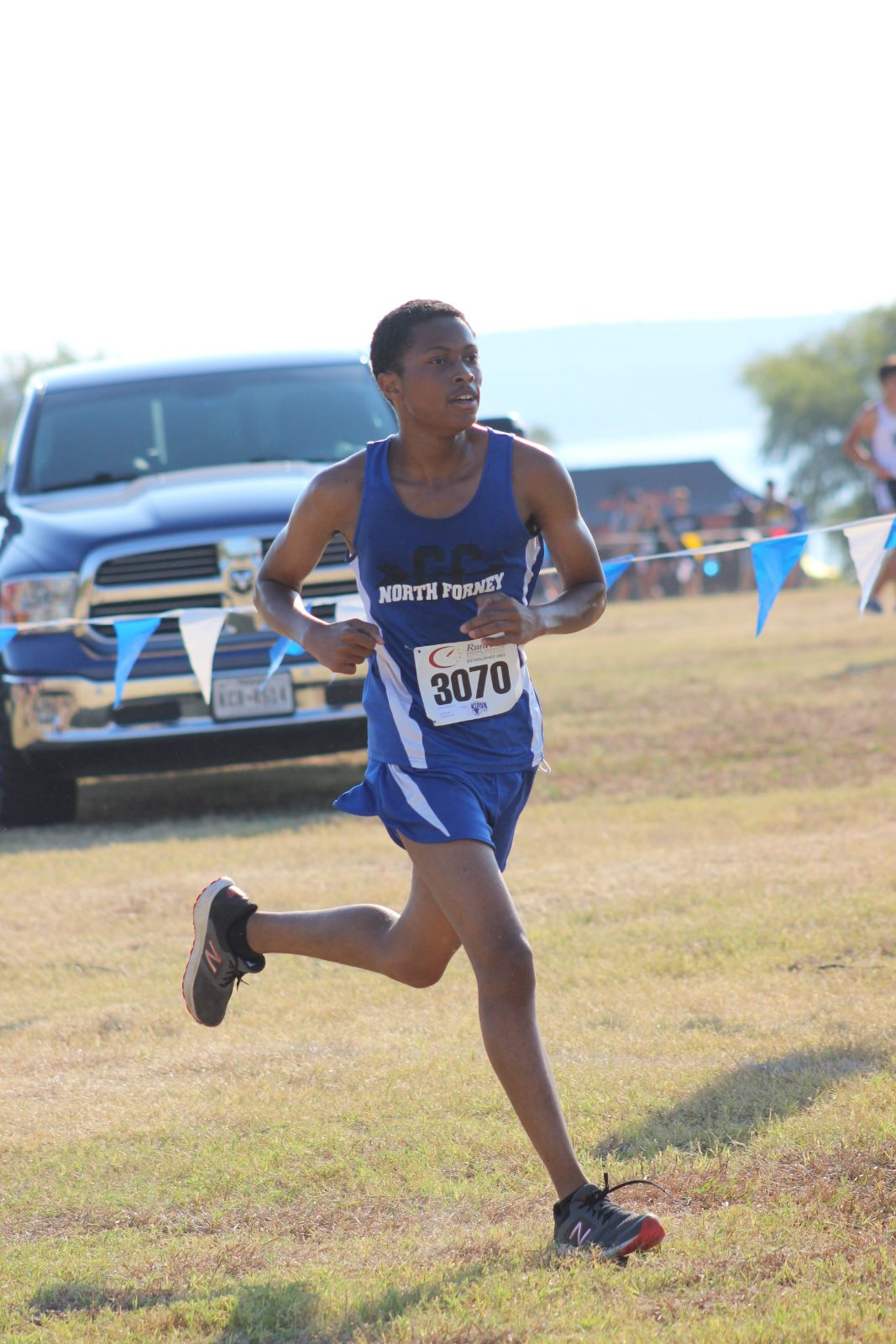 Falcon Cross Country Race's the Lake, Hood Medals by Taking 16th