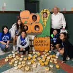 North Forney Girls Soccer Helps Local Daycare with Fall Festival