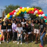 North Forney Girls Basketball Partners Up with Forney High during Fall Festival