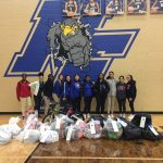 NFHS Girls' Athletics Give to Christmas Angels