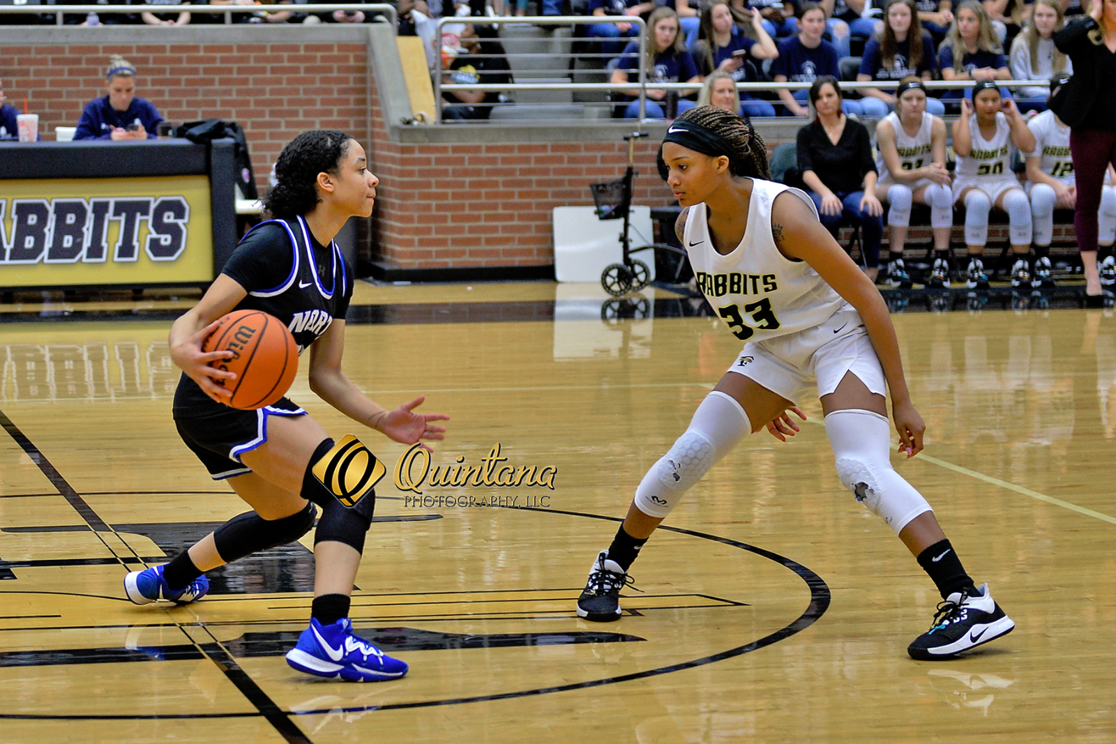 Lady Falcons Basketball defeats Forney 42-29