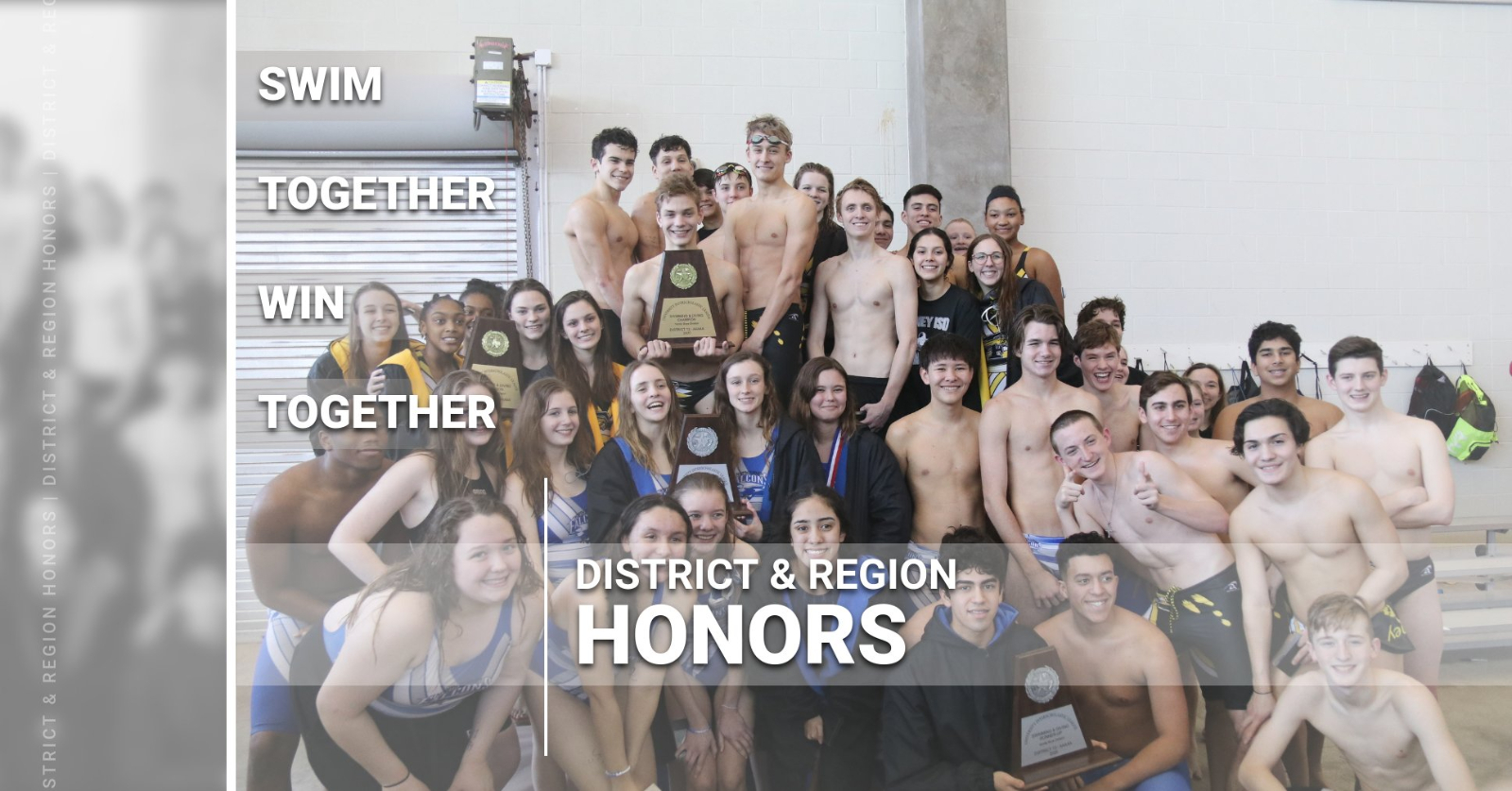 District 13-5A and Region 4-5A Swim and Dive Honors