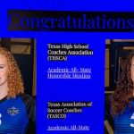 Girls Soccer 2020 Academic All-State Recipients