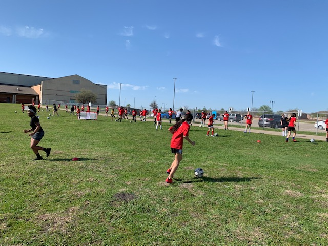 Tryouts Complete………. Middle School Soccer is Underway