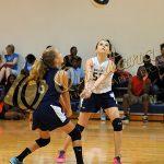 7th grade Warren Volleyball takes on Waxahachie Finley