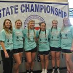 Lady Jackrabbits Compete at THSWPA State Meet