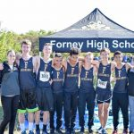 Forney XC Boys at District
