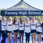 Forney XC Girls at District