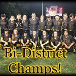 Lady Jackrabbits Bi-District Champions