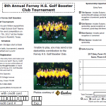 FHS Golf Booster Tournament October 7th