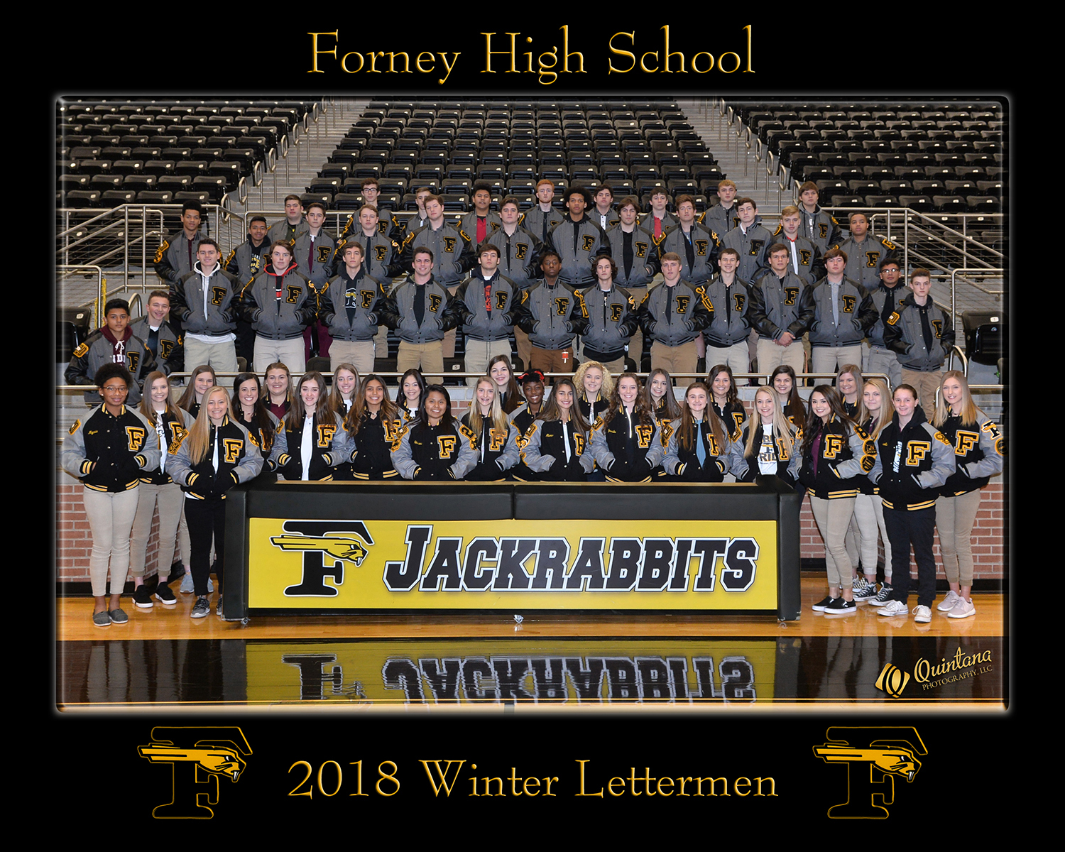 2018 Winter Lettermen Receive Jackets