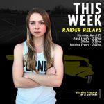 THIS WEEK: Raider Relays