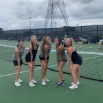 FHS Varsity Tennis 2-0 in District Play
