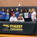 Congratulations!! 8 Lady Jackrabbits Softball Seniors Sign National Letter of Intent