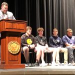 FHS Student Athletes Sign Letters of Intent with Colleges