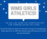 Sign Up for WMS Girls Athletics Information