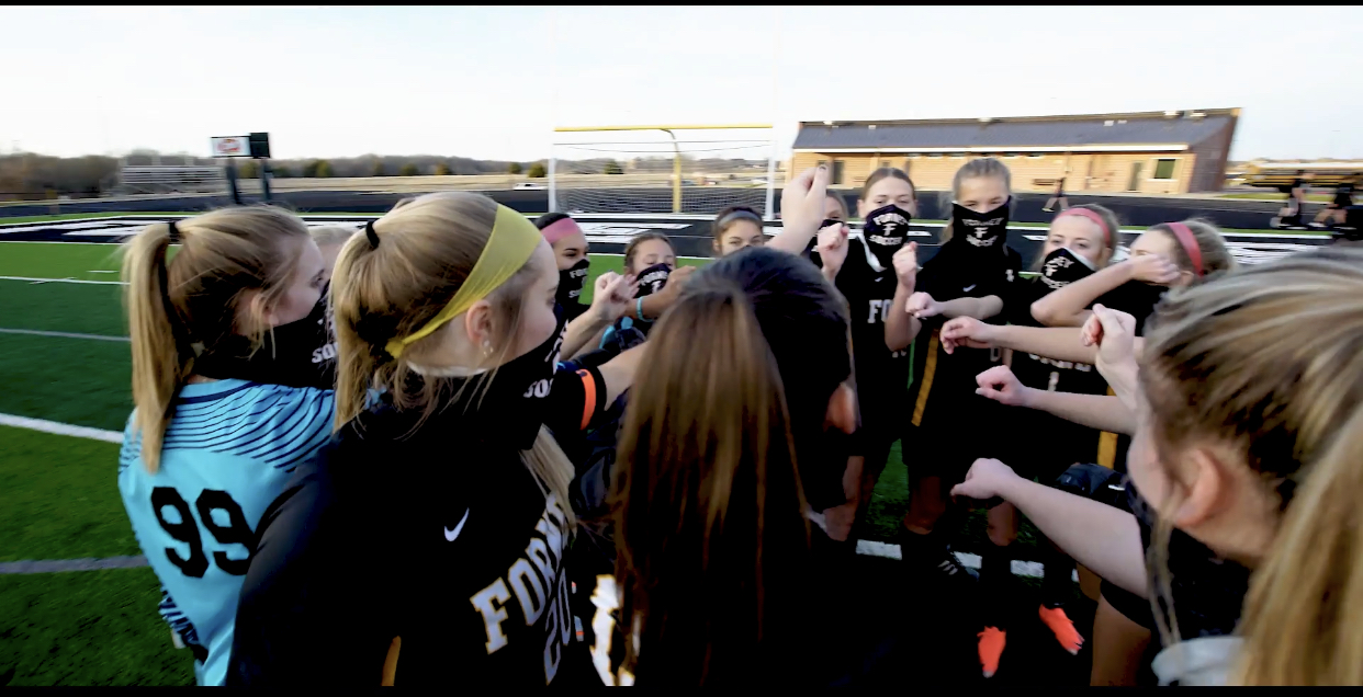13-5A Soccer: Lady Rabbits Win to finish Round 1 of District Play