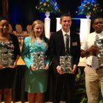Dylan Shumaker Receives Award