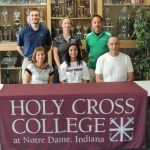 Marisa Browning Signs With Holy Cross