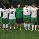 Bremen High School Boys Varsity Soccer beat Rochester High School 3-2