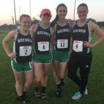 Bremen High School Girls Varsity Track finishes 3rd place