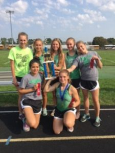 Bremen Girls take 2nd place at New Prairie Classic