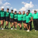 Girls Golf Back, Swing for Regional
