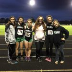 Girls Varsity Track finishes 4th place at Sectional @