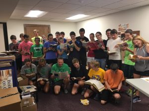 Cross Country Prepares for Book Fair