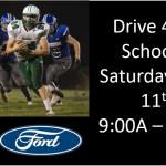 Drive 4 UR School – Saturday, August 11