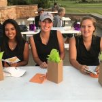 Girls Varsity Golf finishes 1st place on Senior Night