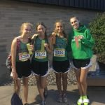 Girls Varsity Cross Country finishes 3rd place at Cougar Kickoff Classic