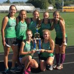 Girls Varsity Cross Country finishes 2nd place at New Prairie HS Cougar XC Invitational