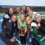 Bremen Girl's Tennis are 2019 Goshen Tournament Champs!