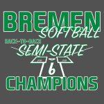Softball Semi-State Tshirts