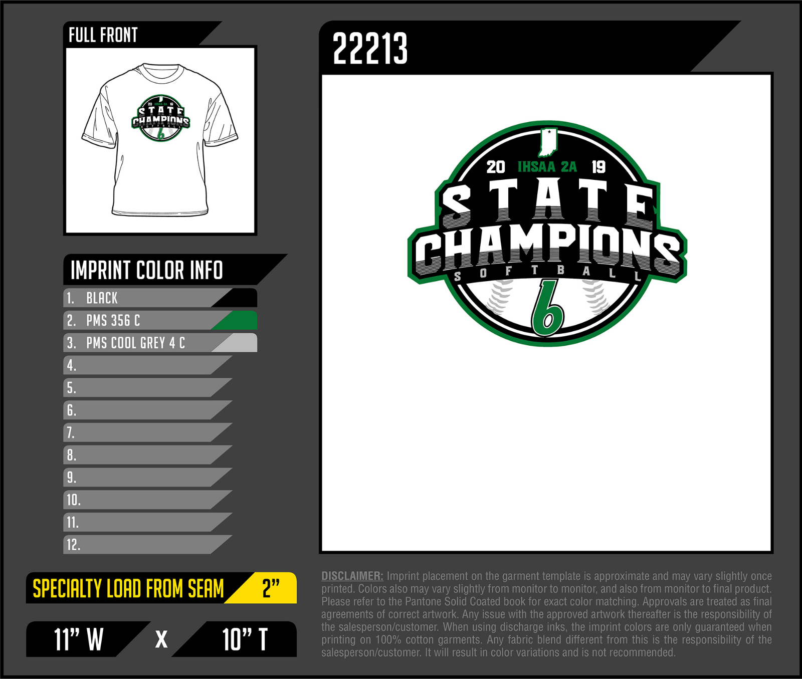 Commemorate Softball State Championship