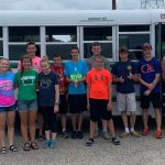 Cross Country team donates time & kitty litter