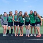Girls Varsity Cross Country finishes 5th place at New Prairie Invitational