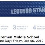 MIDDLE SCHOOL BOYS BASKETBALL & CHEER PICTURES: Fri, December 6th