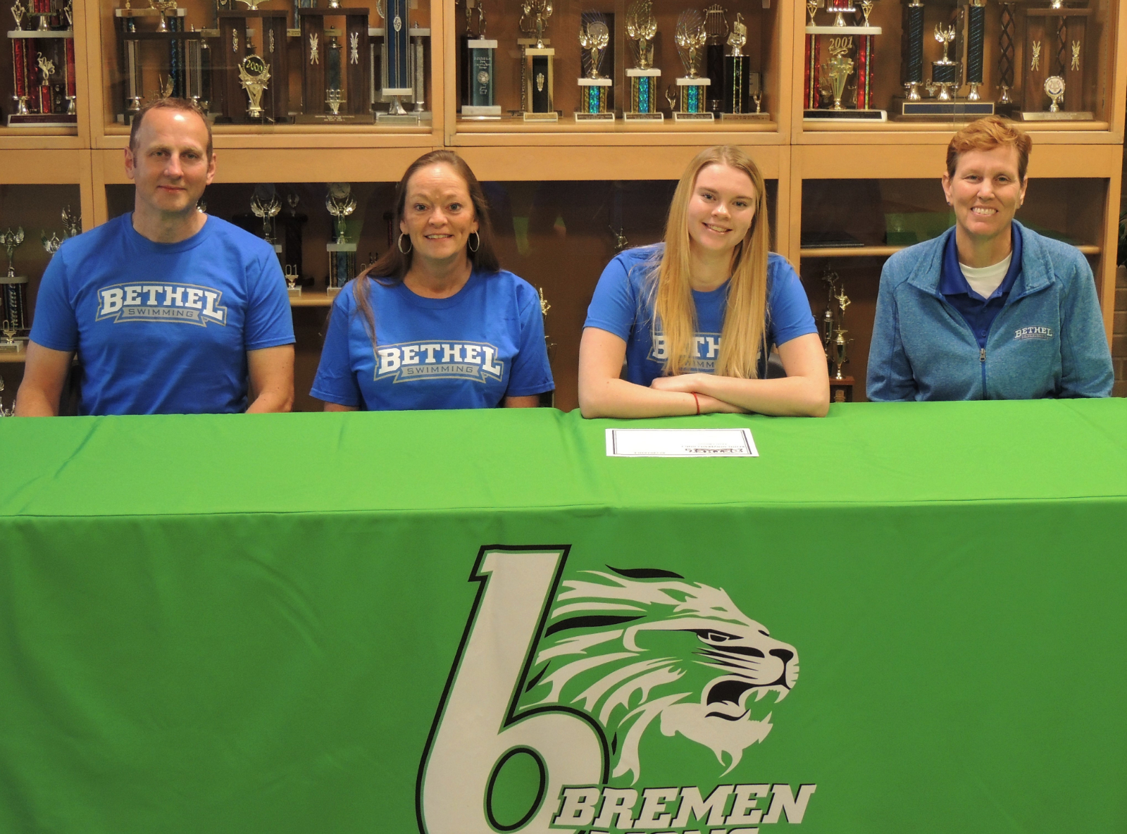 Simmons Commits to Bethel University