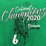 Girls Basketball Sectional T-Shirts